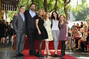 Jane Levy Cheryl Hines Honored on the Walk of Fame