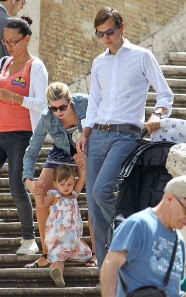 trump shows off her baby bump in rome in this photo ivanka trump ...