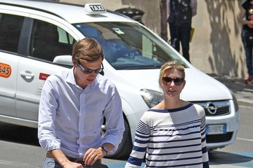 Jared Kushner Ivanka Trump Shows Off Her Baby Bump in Rome