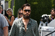 Jared Leto Visits 'Extra'