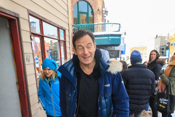 Jason Isaacs Jason Isaacs Runs Errands in Park City