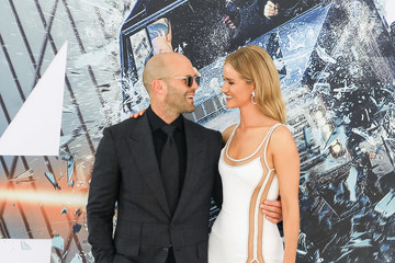 Jason Statham Rosie Huntington-Whiteley Premiere Of Universal Pictures' 'Fast & Furious Presents: Hobbs And Shaw'