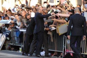 Jason Statham 'The Expendables 3' Premieres in Hollywood