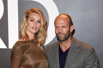 Jason Statham Celebs at the Tom Ford 2015 Womenswear Presentation