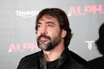 Javier Bardem Javier Bardem at the 'Alpha' Premiere