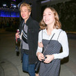Jayden Bartels Jeffrey Bowyer And Brittany Allen Outside ArcLight Cinemas In Hollywood