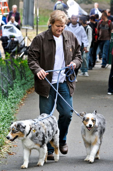Photo of Jeff Daniels & his  Dog