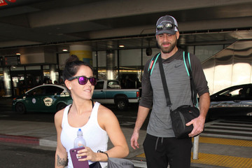 Jenelle Evans Jenelle Evans and David Eason Spotted at LAX