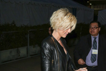 Jenna Elfman Celebrities Are Seen at the 44th Annual Annie Awards at Royce Hall