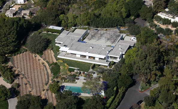 Jennifer Aniston's Bel Air Mansion
