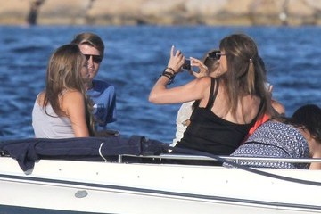 Jennifer Flavin Sylvester Stallone and Family on Vacation 2