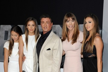 Jennifer Flavin Sophia Rose Stallone 'The Expendables 3' Premieres in Hollywood