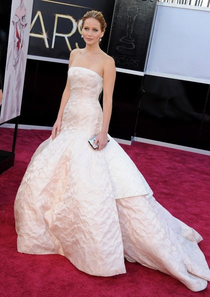 Jennifer Lawrence - Arrivals at the 85th Annual Academy Awards