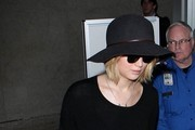 Jennifer Lawrence seen at LAX