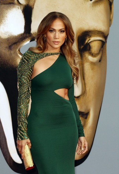 Jennifer Lopez Arrivals for British Academy of Film and Television Arts (BAFTA) event.