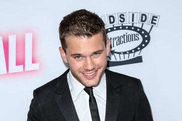 Jeremy Irvine Celebrities Arrive at the Los Angeles Premiere of 'Stonewall'