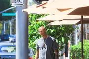 Jeremy Meeks in Beverly Hills
