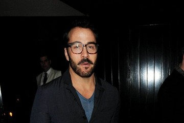 Jeremy Piven Celebrities at Firehouse Restaurant