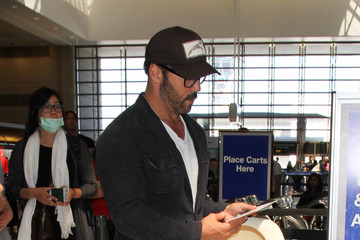 Jeremy Piven Jeremy Piven Is Seen at LAX
