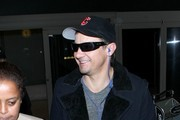 Jeremy Renner Arrives at LAX
