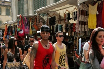 Sammi Giancola  Ronnie Ortiz-Magro Jersey Shore in Florence