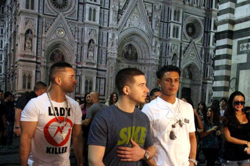 Paul+DelVecchio in 'Jersey Shore' in Florence
