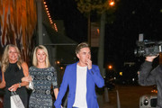 Jesse McCartney outside Craig's Restaurant in West Hollywood