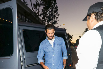 Jesse Metcalfe Dave Chappelle Outside Culture Powered by Samsung Galaxy at Avenue Nightclub in Hollywood