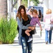 Jessica Alba Gives Her Daughter a Lift
