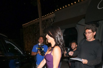 Jessica Lowndes Jessica Lowndes Outside Craig's Restaurant in West Hollywood
