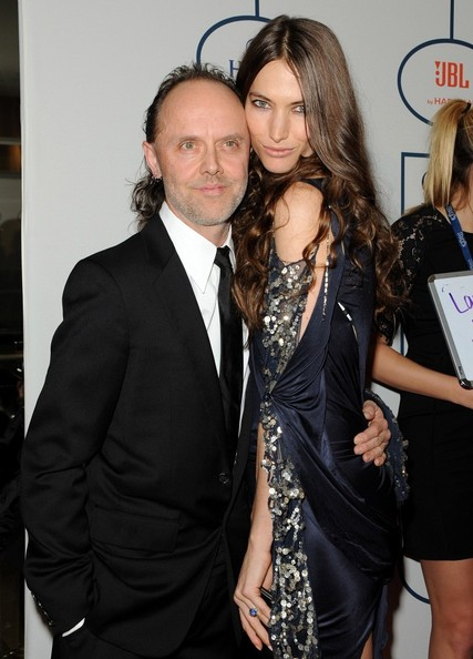 The gallery for --> Lars Ulrich And Skylar Satenstein