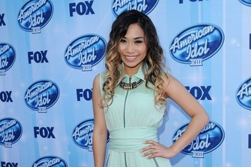 Jessica Sanchez Arrivals at the 'American Idol' Season Finale