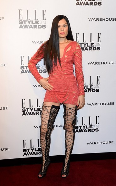 Jessie J - Arrivals at the ELLE Style Awards