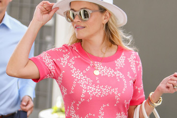 Jim Toth Reese Witherspoon Is Pretty in Pink