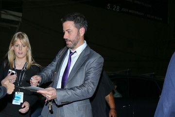 Jimmy Kimmel Celebrity Sightings at Avalon Nightclub