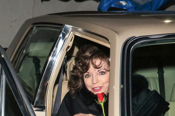 Joan Collins Joan Collins Is Seen Outside Craig's Restaurant in West Hollywood