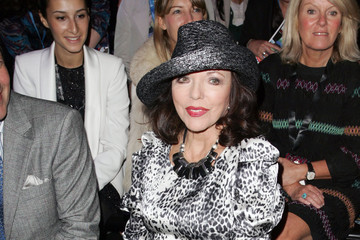 Joan Collins Joan Collins at LFW