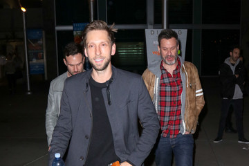 Joel David Moore Celebrities Are Seen Outside ArcLight Theatre