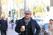 Joel Edgerton Grabs a Coffee
