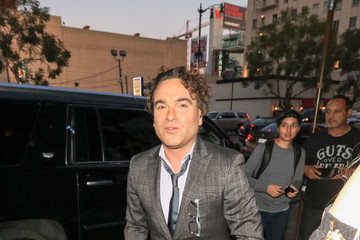 Johnny Galecki Johnny Galecki Is Seen Outside Avalon In Hollywood