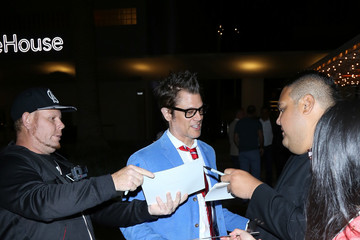 Johnny Knoxville Celebrity Sightings at NeueHouse in Hollywood