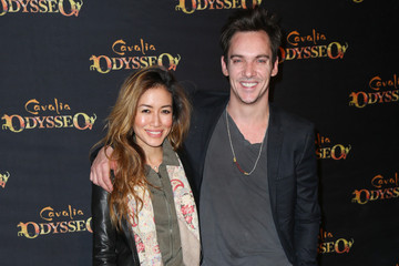 Jonathan Rhys Meyers Celebs Attend the Premiere of Cavalia's 'Odysseo' at Odysseo's White Big Top