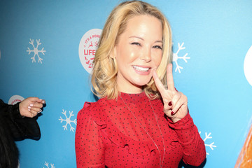 Jordan Ladd The Stars Of Lifetime's Christmas Movies Celebrate The Opening Night Of The Life-Sized Gingerbread House Experience At The Grove
