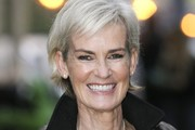 Judy Murray Arrives at the ITV Studios