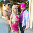 Justin Jedlica Angelique Morgan And Justin Jedlica Go Shopping In Beverly Hills