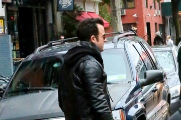 Justin Theroux Jennifer Aniston Out in NYC