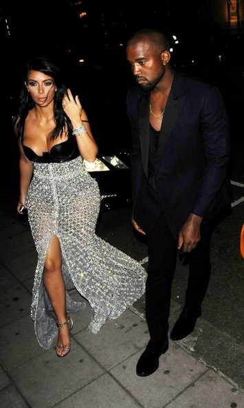 Kim kardashian started dating kanye