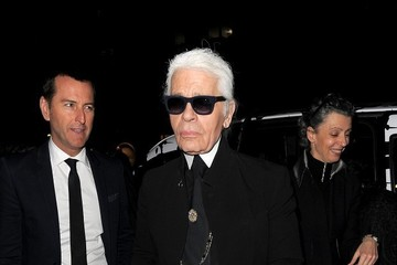Karl Lagerfeld Celebs at Karl Lagerfeld's Store Launch