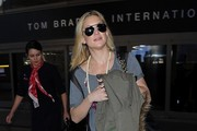 Kate Hudson and Goldie Hawn at LAX