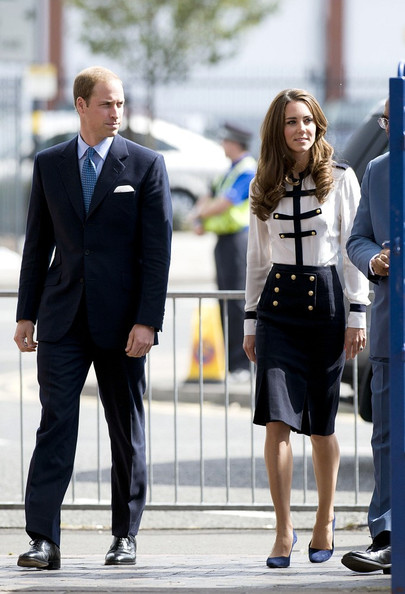 Kate Middleton - Prince William and Kate Middleton Visit Birmingham